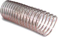 Полиуретановый рукав с металлической спиралью