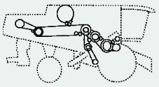 Эскиз привода с/х машины