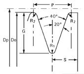 чертеж поликлинового шкива